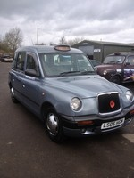 Sold-LTI TX2 AIR CON £62.00.00 PW OVER 48 MONTHS CAB PLATED